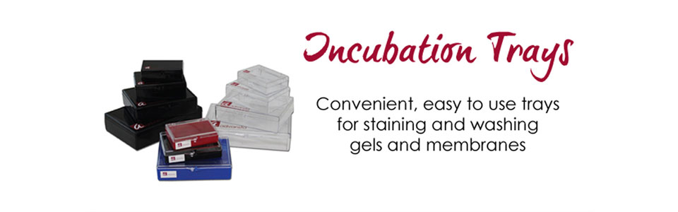 Incubation trays
